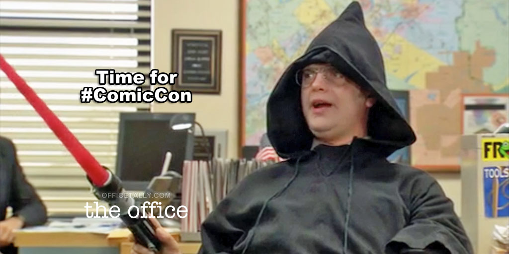 Dwight Schrute Sith Lord Halloween