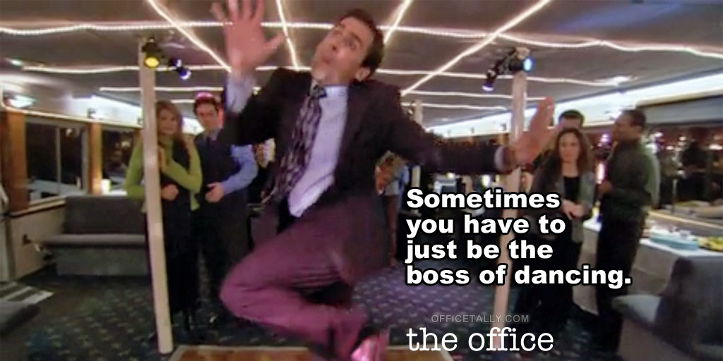 The Office Boss of Dancing