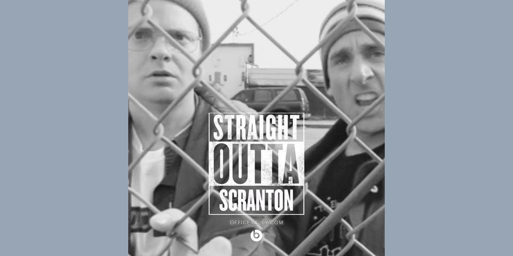 Straight Outta Scranton