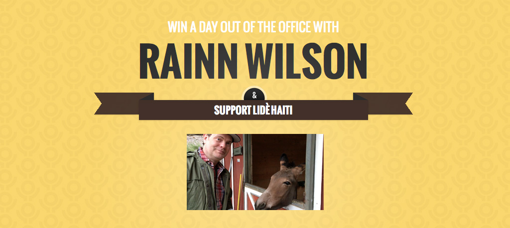 the-office-rainn-wilson-derek-zonkey