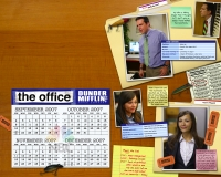 andy bernard karen fillipelli the office wallpaper