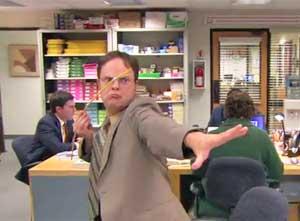 The Office Pencil Javelin Olympics