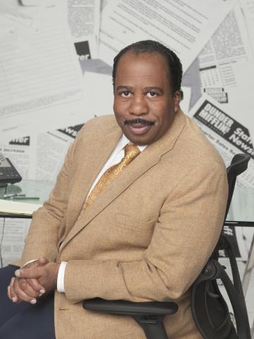 Leslie David Baker Stanley Hudson The Office