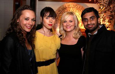 Rashida Jones, Aubrey Plaza, Amy Poehler, Aziz Ansari
