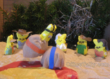The Office: Beach Games Sumo Peeps