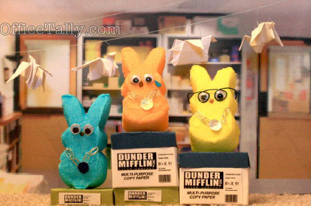The Office: Office Olympics Peeps 2