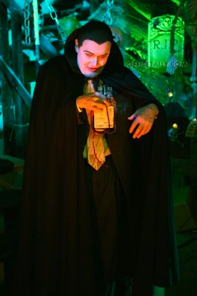 The Office Halloween: Creed as Dracula