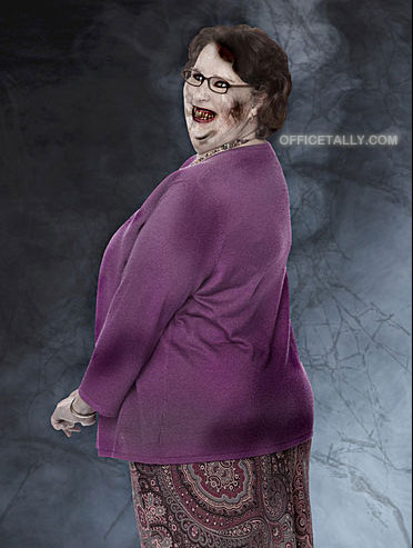 The Office Zombies: Phyllis