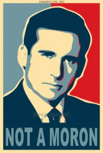 michael-scott-for-president-not-a-moron