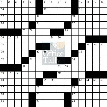 crossword-blank