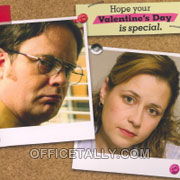 The Office Valentine Cards From Hallmark Officetally