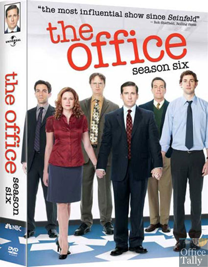 The Office Season 6 DVD