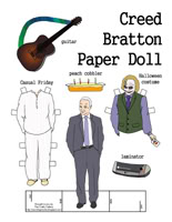 The Office Creed Paper Doll