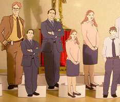 The Office Paper Dolls
