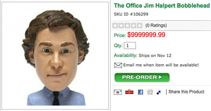 The Office Jim Halpert Bobblehead