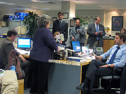The Office Set Visit 2010