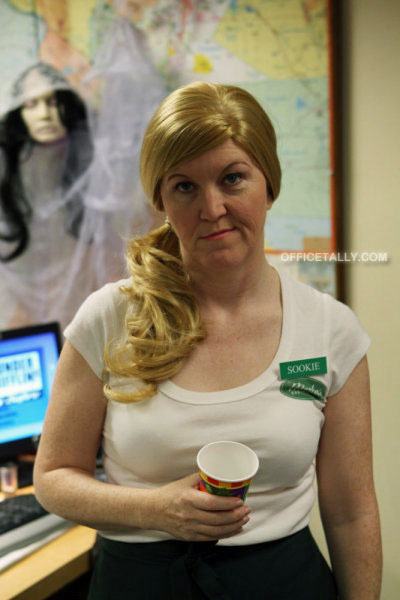The Office: Costume Contest Kate Flannery Meredith Sookie Stackhouse