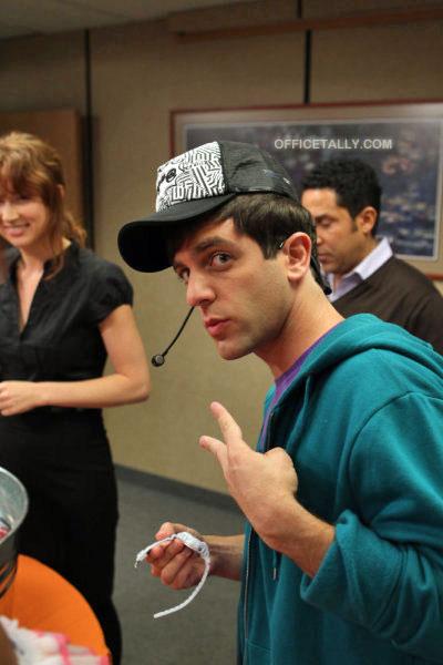 The Office: Costume Contest B.J. Novak Ryan Justin Bieber