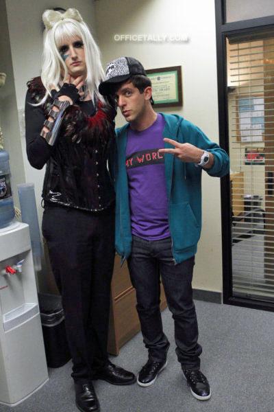 The Office: Costume Contest Gabe Lady Gaga Ryan Justin Bieber