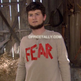 The Office Mose Fear Halloween Costume