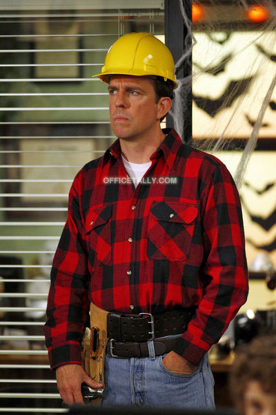 The Office: Spooked, October 27, 2011: Andy as a construction worker