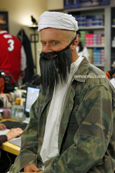 The Office: Spooked, October 27, 2011: Creed as Osama bin Laden