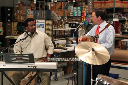 The Office The Sting Ed Helms Craig Robinson Andy Andrew Bernard Darryl Philbin