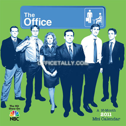 The Office 2011 Mini Calendar