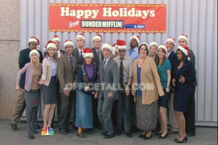 the office classy christmas - The Office Classy Christmas