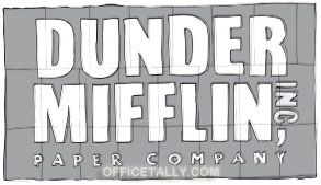 The Office Dunder Mifflin ad