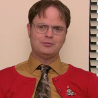 The Office Classy Christmas Dwight