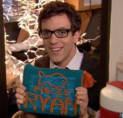 The Office Ryan Pisces