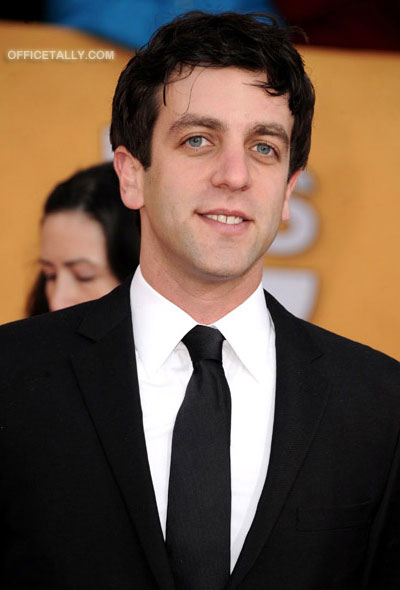B.J. Novak 2011 SAG Awards