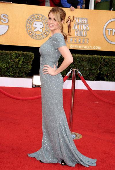 Jenna Fischer SAG Awards 2011