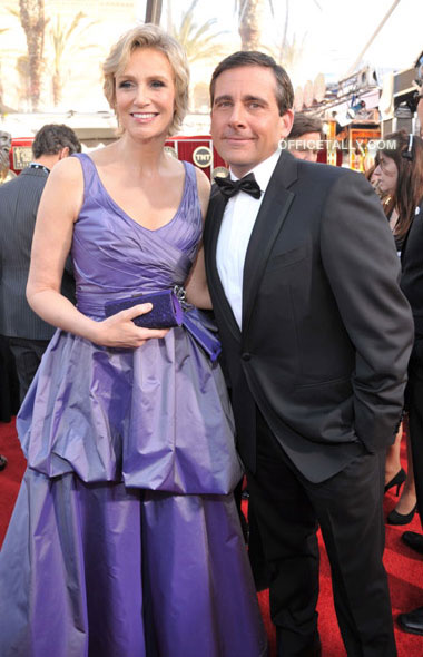 Steve Carell Jane Lynch 2011 SAG Awards