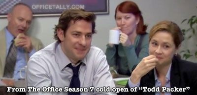 Todd Packer cold open