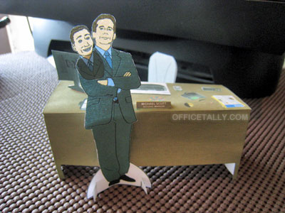 Michael Scott Paper Doll
