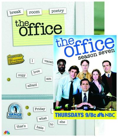 The Office Season 7 DVD plus Magnet Set