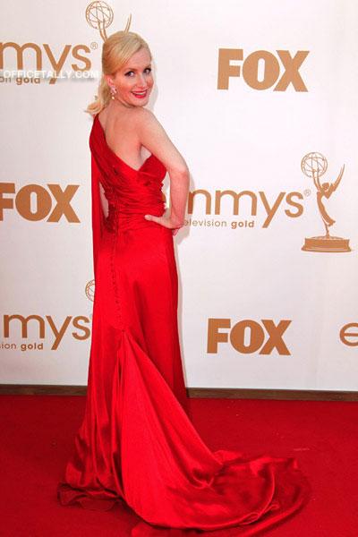 Angela Kinsey Emmy Red Carpet Photos