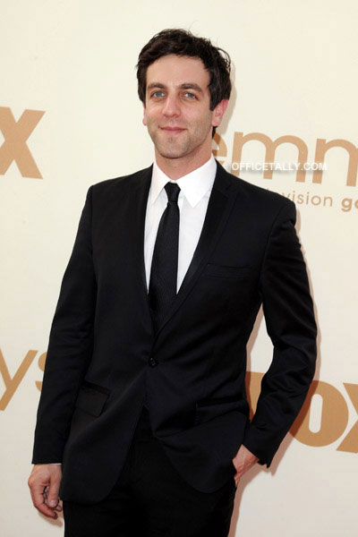 B.J. Novak Emmy Red Carpet Photos