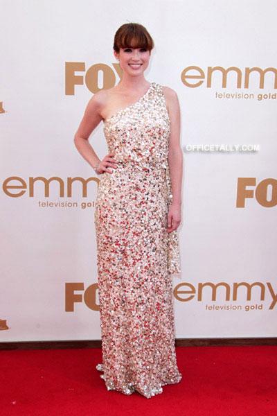 Ellie Kemper Emmy Red Carpet Photos