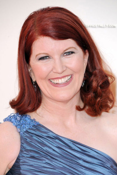 Kate Flannery Emmy Red Carpet Photos