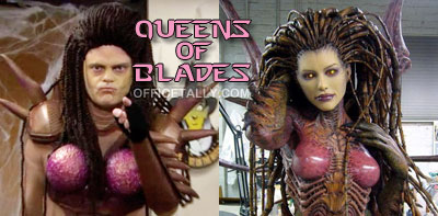 Dwight Schrute The Office Halloween StarCraft Queen of Blades Sarah Kerrigan