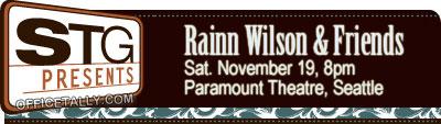 Rainn Wilson and Friends November 19 2011