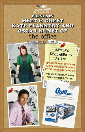 Meet Kate Flannery and Oscar Nunez