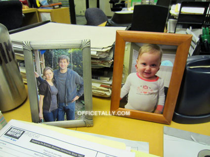The Office: Photos on Jim Halpert's desk