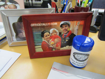 The Office: Photo on Pam Halpert's desk