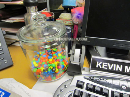 The Office: Kevin's M&Ms jar