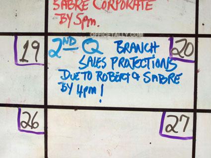 The Office: Accountant calendar