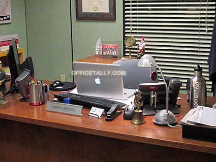 The Office: Andy Bernard's desk